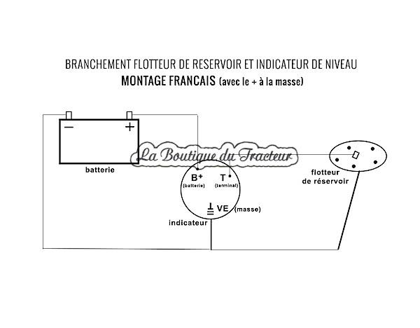 indicateur de niveau de carburant 962047 898418m1 la boutique du tracteur. Black Bedroom Furniture Sets. Home Design Ideas
