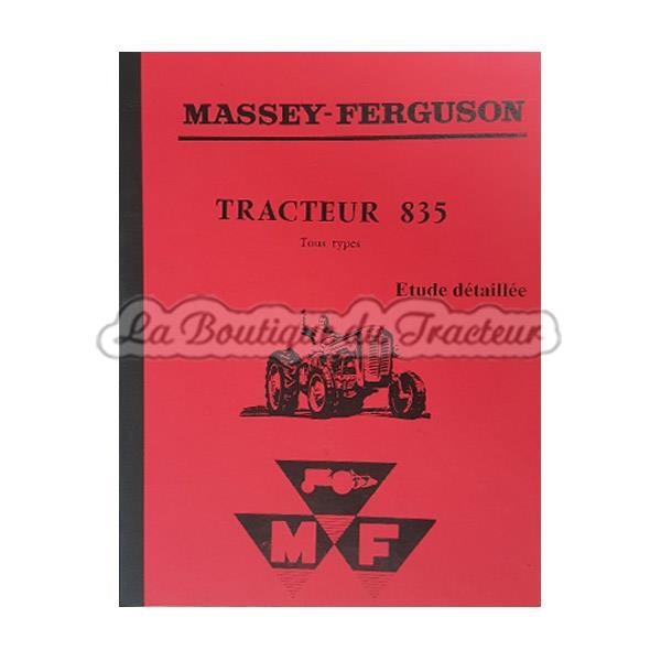 Revue technique massey ferguson 835 ds