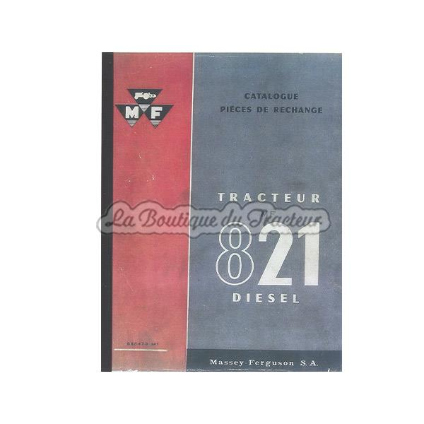 catalogue pi ces de rechange mf821d la boutique du tracteur. Black Bedroom Furniture Sets. Home Design Ideas