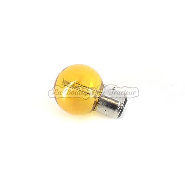 4ae80b2a74a18 Lampe jaune code-phare 12V, 3 ergots, 45/40W, fixation BA21D