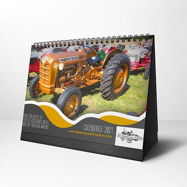 Calendrier Tracteur Pulling 2021 Calendrier 2021 de La Boutique du Tracteur